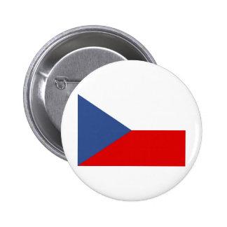 Czech Republic Pinback Buttons