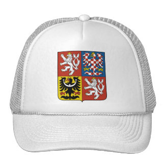 Czech Republic Coat of arms CZ Cap