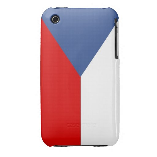 czech republic country flag case iPhone 3 cover