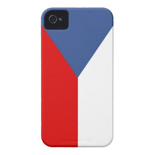 czech republic country flag case iPhone 4 Case-Mate case