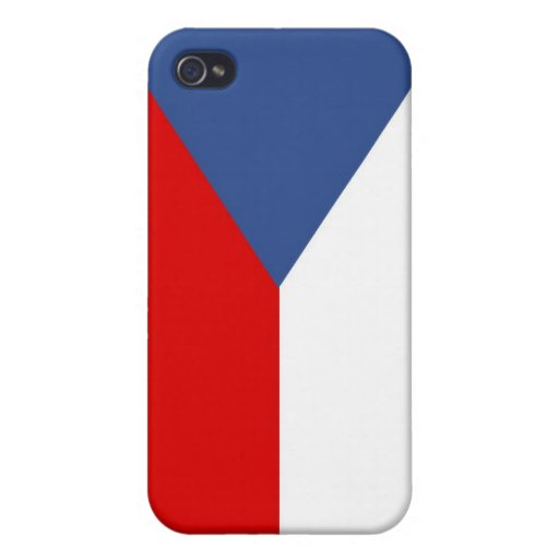 czech republic country flag case iPhone 4 covers