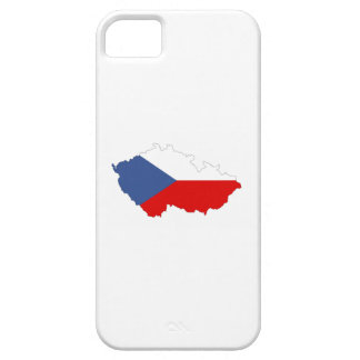 czech republic country flag map iPhone 5 cases