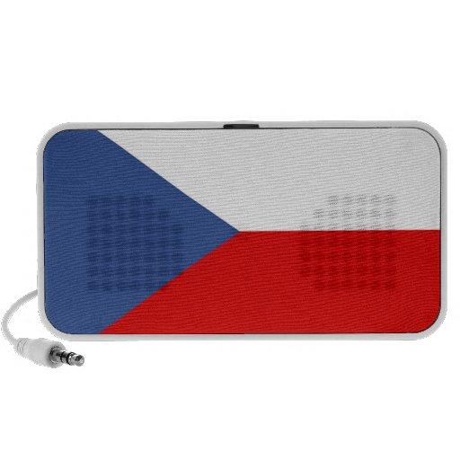 czech republic country flag speaker doodle