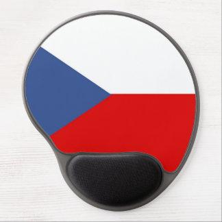 czech republic country long flag nation symbol gel mouse pad