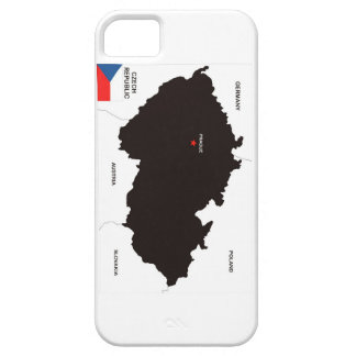 czech republic country political map flag iPhone 5 cover