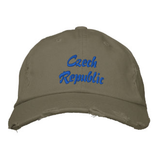 Czech Republic Embroidered Hat