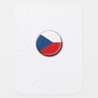 Czech Republic Flag Baby Blanket