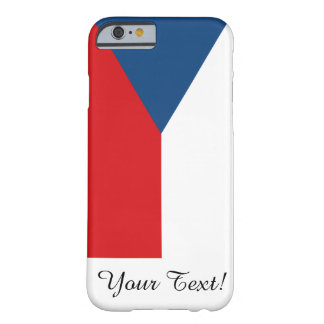 Czech Republic Flag Barely There iPhone 6 Case