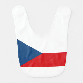 Czech Republic Flag Bibs