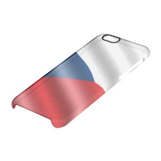 Czech Republic flag Clear iPhone 6/6S Case