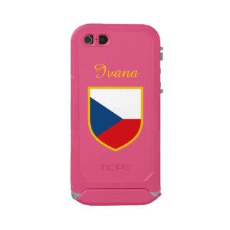 Czech Republic Flag Customized Incipio ATLAS ID™ iPhone 5 Case