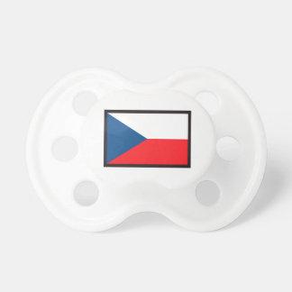 CZECH REPUBLIC FLAG BooginHead PACIFIER