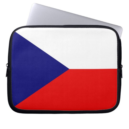 Czech Republic Flag Laptop Case