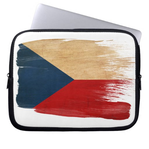 Czech Republic Flag Computer Sleeve