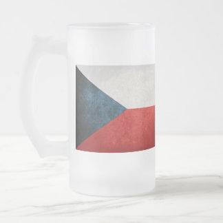 Czech Republic Flag; Coffee Mugs