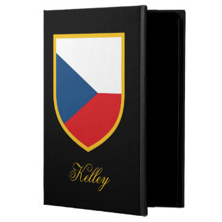 Czech Republic Flag Personalized iPad Air Cover