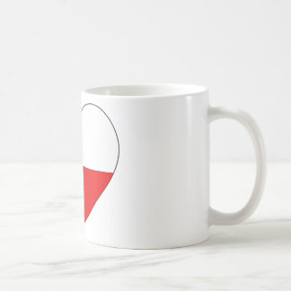 Czech Republic Flag Simple Coffee Mug
