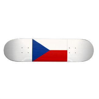 Czech Republic Flag Skate Deck