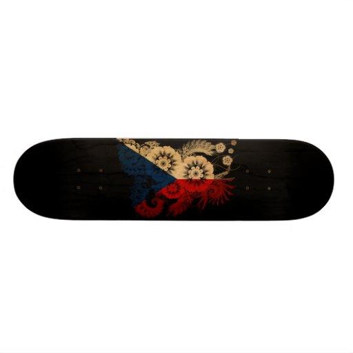 Czech Republic Flag Skate Decks
