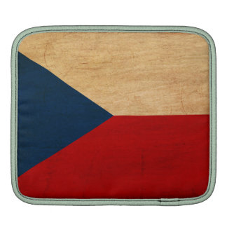 Czech Republic Flag Sleeves For iPads