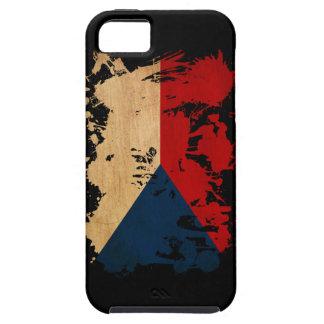 Czech Republic Flag Tough iPhone 5 Case