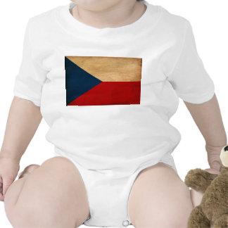 Czech Republic Flag Bodysuits