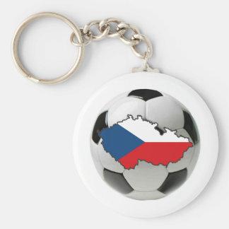 Czech Republic national team Basic Round Button Key Ring