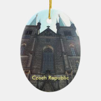 Czech Republic Prague Church Ornament