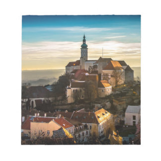 Czech Republic Skyline Notepad