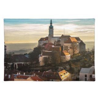 Czech Republic Skyline Placemat