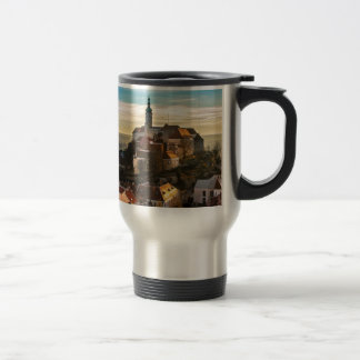 Czech Republic Skyline Travel Mug