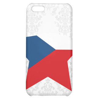 Czech+Republic Star Case For iPhone 5C
