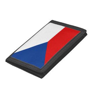 Czech Republic Trifold Wallet