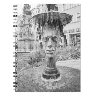 CZECH REPUBLIC, West Bohemia, Karlovy Vary Spiral Notebook