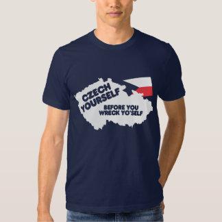 Czech Yourself Tshirt