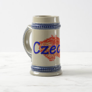 Czechia / Czech Republic Beer Stein