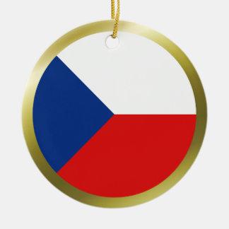 Czechia Flag Ornament