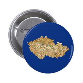 Czechia Map Button