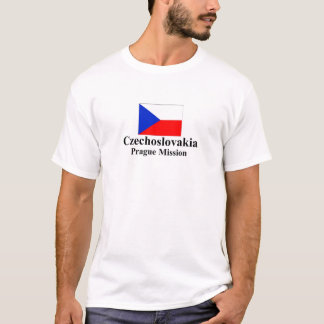 Czechoslovakia Prague Mission T-Shirt