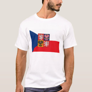Czechoslovakian Flag (Czech Republic) T-shirt