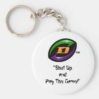 D1 Football keychain