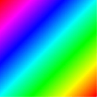 D1 Linear Gradient - Rainbow Photo Cutouts