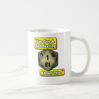 d20 Bad Feeling Coffee Mug