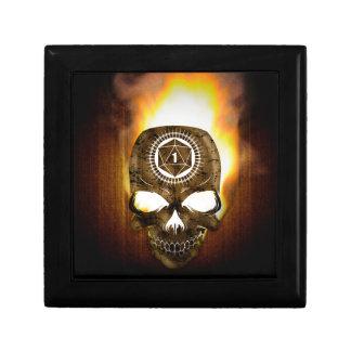 d20 Critical Fail Death Skull Gift Box