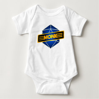 D20 Star Monk Baby Bodysuit