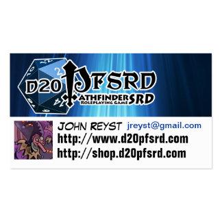 d20pfsrd.com Business Cards 2013