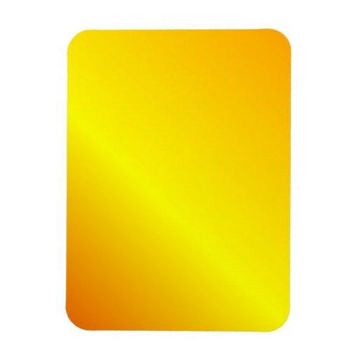 D2 Linear Gradient - Orange, Yellow, Red Rectangular Magnets