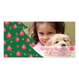D2 Tree Decor MC-Red Holidays Photo Card