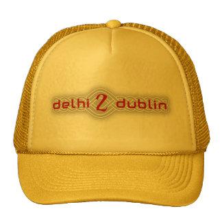 D2D spraypaint logo hat