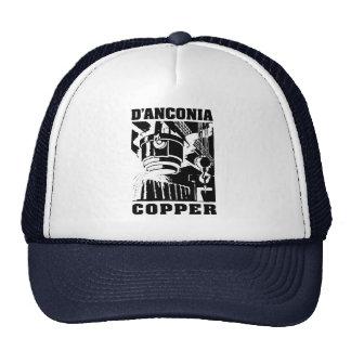 d'Anconia Copper / Black Logo Cap